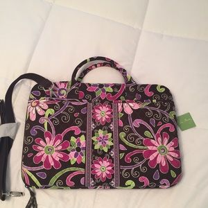 Vera Bradley laptop case-great for traveling